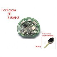 Remote Board Key 3 Buttons 315MHZ(dark leg board) for Toyota