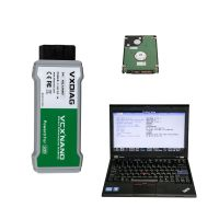 USB VCX NANO Ford/Mazda, JLR or GM/Opel or WIFI VCX NANO Toyota with 500GB Software HDD  Pre-installed on Lenovo X220 Laptop