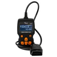 2017 Vgate VS890S Car OBDII Code Reader Support Multi-Brands Cars Update Version of VS890