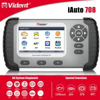 VIDENT iAuto708 Full System Scan Tool OBDII Scanner OBDII Diagnostic Tool for All Makes