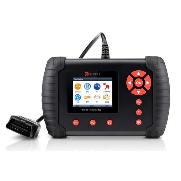 VIDENT iLink450 ABS&SRS reset /DPF/Battery Configuration Full Service Tool
