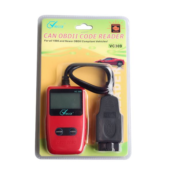 2017 Viecar VC309 OBDII Code Reader Work with Most compliant Vehicles