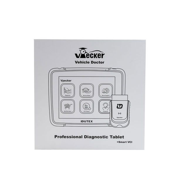 Original Wifi Idutex Vpecker E4 Professional Diagnostic Tablet with Coding and Programming Function