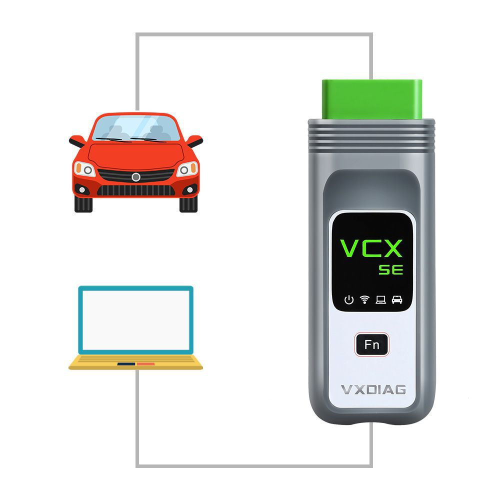 Original VXDIAG VCX SE for BMW Supports ECU Programming Online Coding without Software HDD