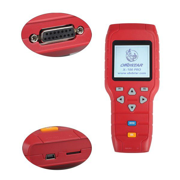 OBDSTAR X-100 PRO X100 Pro Auto key programmer (C) Type for IMMO and OBD Software Function Get a Free OBDSTAR EEPROM Adapter