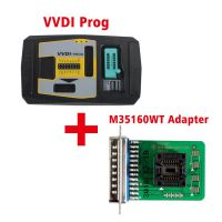 Original V4.8.0 Xhorse VVDI PROG Programmer with M35160WT Adapter Free Shipping by DHL