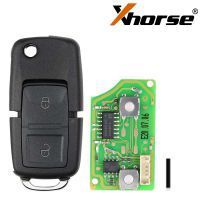 XHORSE XKB508EN Wire Remote Key B5 Style 2 Buttons work with MINI Key Tool/VVDI2 5pcs/lot