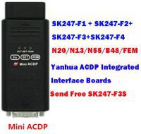 Yanhua Mini ACDP BMW DME N13 N20 N55 B48 and FEM BDC Integrated Interface Boards with License