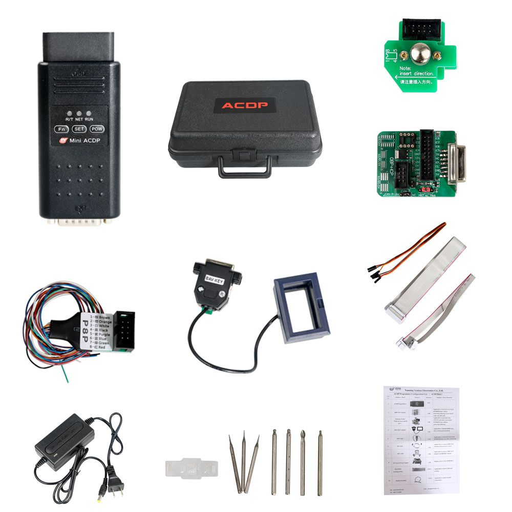 (Porsche Package) Yanhua Mini ACDP Key Programmer Master Basic Plus Porsche BCM Key Programming Module