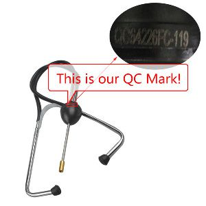 Automobile cylinder stethoscope qc mark