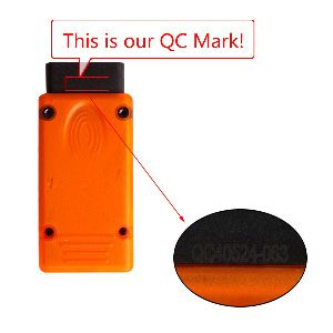 E/F SCANNER for BMW  QC MARK