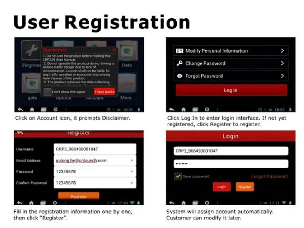 how to register crp229